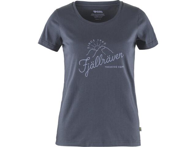 Fjällräven Sunrise T-Shirt Women navy